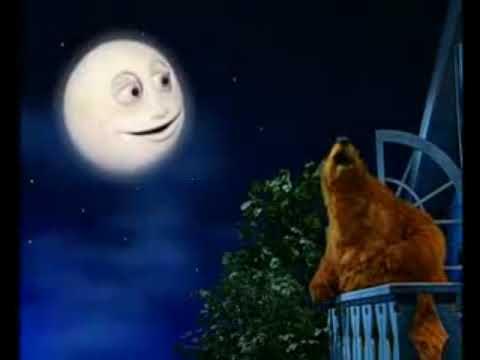 Miś w dużym niebieskim domu Piosenka na dobranoc