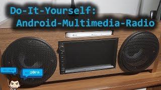 DIY - Do-It-Yourself - 2-DIN Android Multimedia Radio selbst bauen - DAB / Analog / Internetradio