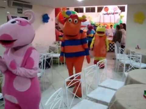 Vídeo Backyardigans Tasha Austin Pablo Tyrone Uniqua Festa Infantil SP