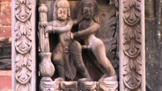 """""Kamasutra"" temple. Durbar Square in Bhaktapur."