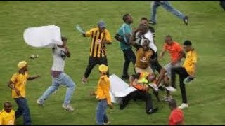 SOUTH AFRICAN FOOTBALL HOOLIGANS  CHIEFS & PIRATES    PITCH INVATIONS   VIOLENT FANS