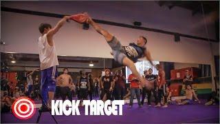 Kick Target |  Tricking Games | Martial Arts Tricking