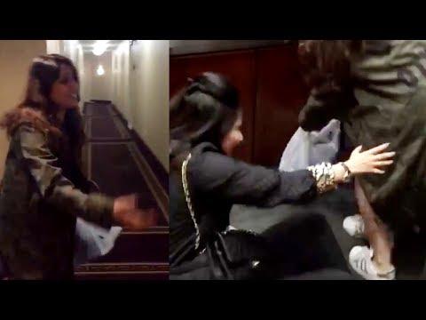 Xxx Mp4 Watch Rohit Sharma Wife Ritika Sajdeh Fun In Elevator 3gp Sex