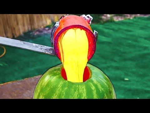 2 805 DEGREE LAVA VS Watermelon