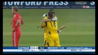 Aaron Finch record 154 (63) vs England Highlights 1st T20 2013 HD!