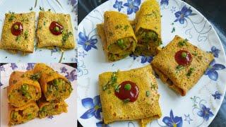 आलू और बेसन का 2 तरह का ऐसा नया और टेस्टी नास्ता जिसे आप रोज बनाकर खायेंगे | Aloo besan ka nasta
