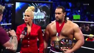 Chris Jericho to Lana SHUT UP!