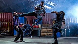 Michea Jai White (FALCON) Three vs One final fight scene HD