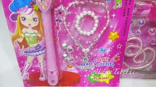 Princess Sparkling Light up Wand - Beauty and wisdom coexist flash light