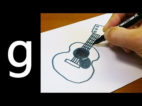 How to Draw Cute Doodle Using Letters