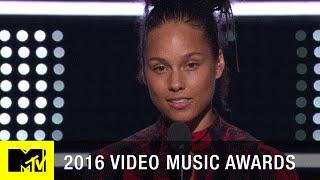 Alicia Keys Emotional Speech | 2016 Video Music Awards | MTV