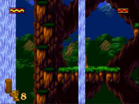 [Sega Genesis] - The Lion King - Level 6 - Hakuna Matata