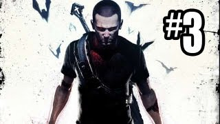 Infamous: Festival Of Blood DLC Gameplay Walkthrough Part 3 - VAMPIRE POWERS!! (PS3 HD)
