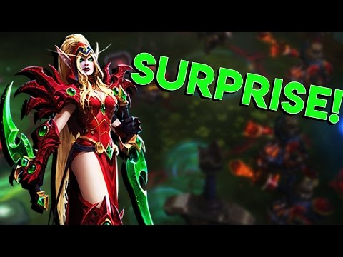 Heroes of the Storm (HotS) | VALEERA GAMBLE | Valeera Gameplay ft. Jesse Cox and Sinvicta
