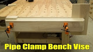 Pipe Clamp Workbench Vise - 210
