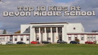 Top 10 most amazing kids from Devon middle school