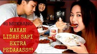 #1 MUKBANG Makan Lidah Sapi Ekstra Pedas   Alifah Ratu Saelynda (Bahasa Indonesia)
