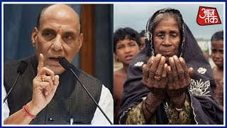 Rohingya Muslims Are Not Refugees Says Rajnath Singh