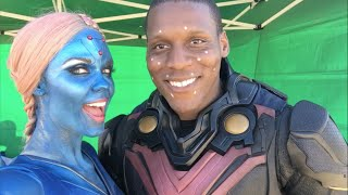 SUPERGIRL - BEHIND THE SCENES STUNTS