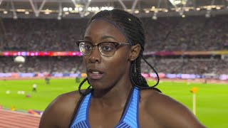 WCH 2017 London - Shamier Little USA 400 Metres Hurdles Heat 3