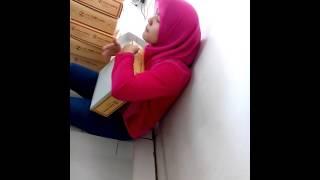 Gadis hijab kren abis main gendang,,,