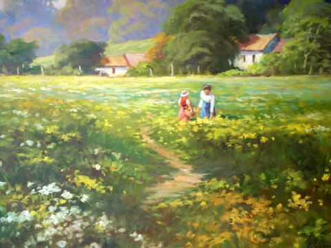 A arte de Jaasiel Valzacchi paisagens