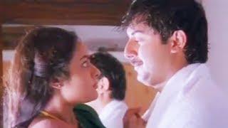 Romantic scene between Arvind (Rishikumar) & Madhu (Roja) | Cinema Junction HD