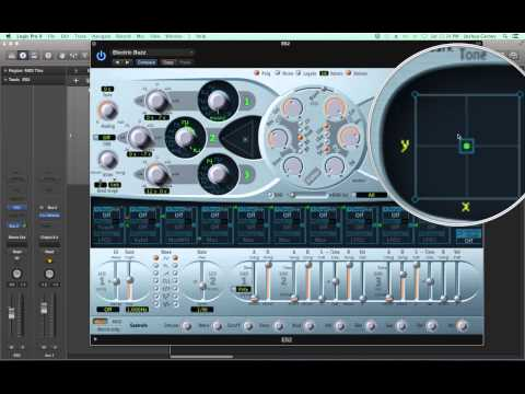 Logic Pro X - Video Tutorial 48 - ES2 Synthesizer (PART 1)