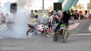 نادي فرسان بغداد مع الفريق الاجنبي ابطال العالم للدراجات في الزواء