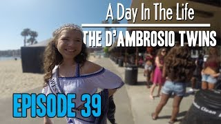 Beach Photoshoot - D'Ambrosio Twins- A Day In The Life ( Episode 39 )