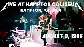 Metallica - James' 23rd Birthday, Live in Hampton, VA, USA (1986) [SBD Audio Only]