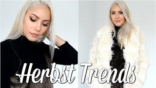 Herbst Fashion Trends - meine Lieblinge | funnypilgrim