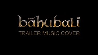 Baahubali Trailer music cover ( It's been so long now) by Amal Antony Agustín