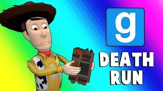 Gmod Deathrun Funny Moments - Dusty Town (Garry