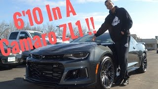 2017 Chevrolet Camaro ZL1 Review !! From A Tall Guys Perspective, Who Owns A Hellcat