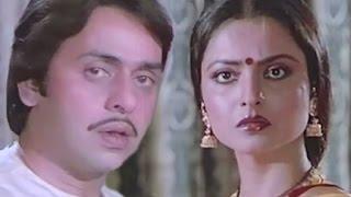 Vinod Mehra slaps Rekha, Bindiya Chamkegi - Emotional Scene 7/10