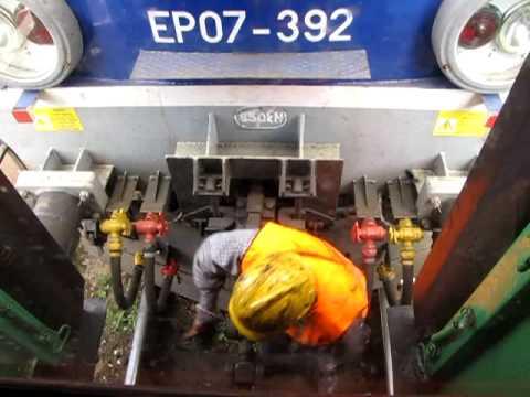 Sprzęganie lokomotywy