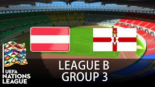 Austria vs Northern Ireland - 2018-19 UEFA Nations League - PES 2019