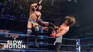 AJ Styles and Jinder Mahal's SmackDown showdown unfolds in slow-motion: Exclusive, May 17, 2017