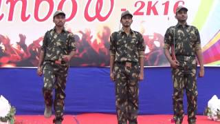 Standing ovation Emotional Indian Army Drama performed in college
