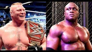 ¿Brock Lesnar vs Bobby Lashley?