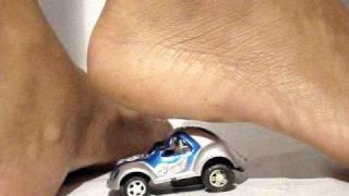 PAULA CRUSHING CARS