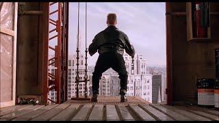 Прыжок с высоты — «Младенец на прогулке, или Ползком от гангстеров» (1994) сцена 9/10 HD