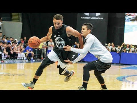 Stephen Curry BREAKS ANKLES in Philippines