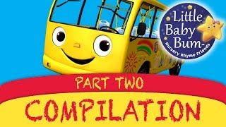 Wheels On The Bus Plus Lots More Great Nursery Rhymes from LittleBabyBum!!