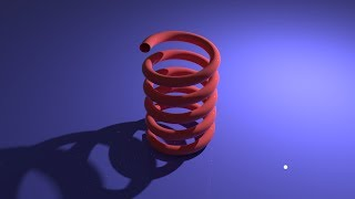 Modeling and Animating A Spring in Blender 2 79 using Screw Modifier