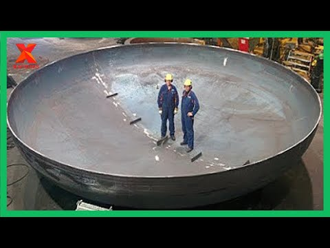 The Most Powerful Heavy Duty Machines Bending Roller Machine Rolls 140mm Thick Plate; 17.000 Tonnes