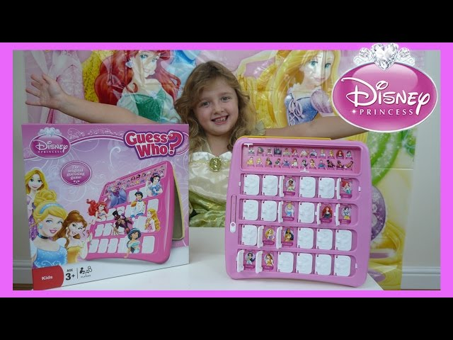 Disney Princess Guess Who Game | Awesome Disney Princess fun game | The Disney Toy Collector