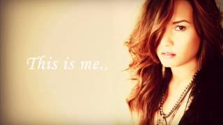 Demi Lovato - This is me (acoustic) lyrics