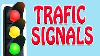 Traffic Signals   Animated Nursery Rhyme in English